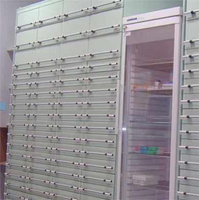 HX Pharmacy Drawer System with Cold Storage Unit